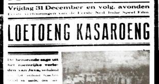 """""""Loetoeng Kasaroeng"""", Film Cerita Pertama di Negeri Ini"""