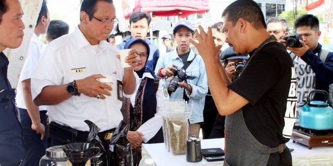 Kenalkan Kopi Nusantara melalui Event Ngopi Bareng KAI