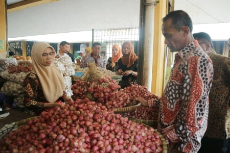 Harga Pangan Pokok di Yogyakarta Stabil